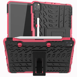 lenovo tablet skin 2020 - 1pcs Case For IPAD PRO 11 2020 MINI 1 2 3 4 IPAD air 2017 PRO 10.8 air9.7 Cover Heavy Duty 2 in 1 Hybrid Rugged Durable