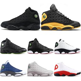 quality design 71957 04651 Nike Retro Air Jordan 13 AJ13 2018 New Melo Classe de 2002 13s Il a obtenu des  chaussures de basket-ball de jeu 13 Le capitaine Phantom America Barons ...