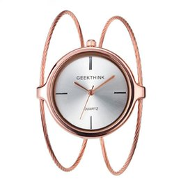 $enCountryForm.capitalKeyWord Australia - Women's Bracelet Watch Mirror Coating Organic Reinforced Glass Japan Quartz Movement Steel Strip Material Stainless Steel Strap