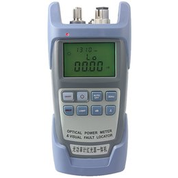 fiber tester Australia - AUA 9 All-in-one Laser Power FTTH Fiber Optic Optical Power Meter Cable Tester 1mw