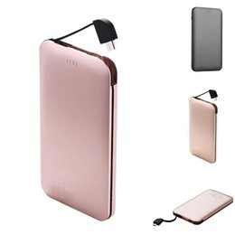 Iphone Design Power Bank Australia - 20000mAh USB External Battery Power Bank Special Design Backup Phone Powerbank with Invisible USB For Xiaomi MI iPhone Samsung