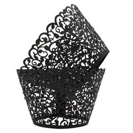 $enCountryForm.capitalKeyWord Australia - METABLE Pack of 100 Vine Cupcake Holders Filigree Artistic Bake Cake Paper Cups Vine Designed Decor Wrapper Muffin Paper Holder