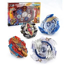 Red Beyblade Australia - 4D Beyblade Burst Toys Arena With Launcher and Box Beyblades Metal Fighting Gyro Fusion God Spinning Top Bey Blade Blades Toy