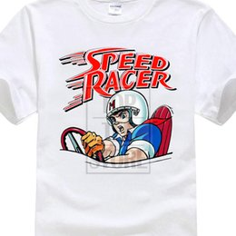 $enCountryForm.capitalKeyWord Australia - Speed Racer Vintage Cartoon Men's T Shirt Size S To 4xl T Shirt Men Short Sleeve Funny