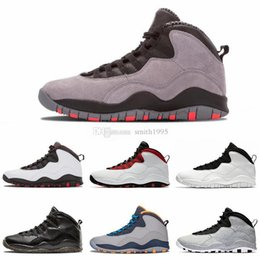 Men Sport Shoes Size 13 Australia - Wholesale Cement 10s Mens Basketball Shoes Class of 2006 Westbrook Cool Grey Chicago 10 Trainers Sneaker Men Sports Shoe Size 8-13