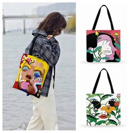 beach bags folding 2020 - Antwerp Personality Print Tote Bag For Women Casual Tote Ladies Shoulder Bag Foldable Beach Bags Outdoor Shopping cheap