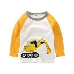 $enCountryForm.capitalKeyWord Australia - Autumn New Boy T-shirt Long Sleeve T Shirts O Neck Rooter Cotton Baby Boys Tops 2-10T Children's Clothing Spring Tops Boy Tees