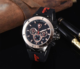 Wholesale Limited Edition Tag Quartz Watch For Men Chronograph Flyback Stainless Skeleton Leather Band Caliber Watch DE s