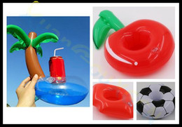 $enCountryForm.capitalKeyWord UK - Inflatable Red cherry lip diamond ring animal Floating drink Holder beach pool Party Beverage Boats cola beer cup holder