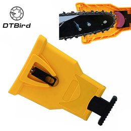 electric poles NZ - Yellow electric saw chain tooth grinder saw blade grinder tool power pole installation chain woodworking tool