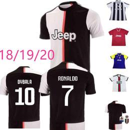 833286735 Thailand RONALDO Juventus 2019 2020 champions league soccer jerseys DYBALA  18 19 20 Sports football kit shirt MEN WOMEN KIDS sets JUVE