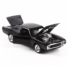 model horses NZ - - (Bulk) Fast and the Furious Dodge muscle car model 132 horses selling car model alloy toys Simulation