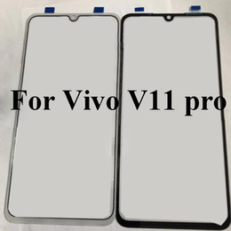 $enCountryForm.capitalKeyWord Australia - Black For vivo v11 pro Glass Lens touchscreen Touch screen Outer Screen For vivo v 11 pro V11pro Glass Cover without flex