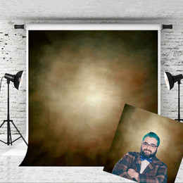 Portrait Photography Photos Canada - Dream 5x7ft Brown Portrait Photography Backdrops for Photographer Texture Abstract Background Old Master Photo Prop Studio