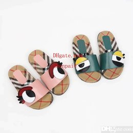 $enCountryForm.capitalKeyWord Australia - Pink slipper sandals for girl kid animal slipper fashion boy house slippers summer beach sandals shoes