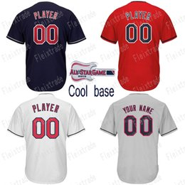 b30dd9482 2019 All Star Mens Cleveland Francisco Lindor Jose Ramirez Michael Brantley  Trevor Bauer Corey Kluber Jason Kipnis Carrasco Baseball Jersey