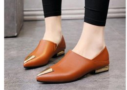 $enCountryForm.capitalKeyWord Australia - 2019 Women's shoes in Spring and Autumn with New style Low heel Coarse heel pointed end@61