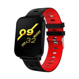 $enCountryForm.capitalKeyWord Australia - smart watch K10 Plus IPS Heart rate Blood pressure detection bracelet sleep sport monitor smart wriseband message reminder warterproof watch