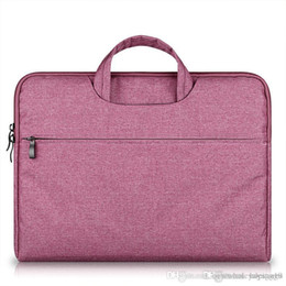 laptop 14 inch notebook Australia - UK Briefcase Large Capacity Laptop Handbag Notebook Bag For Men Women Travel Bussiness For 11 12 13 14 15.6 Inch Macbook Pro PC Sleeve Case