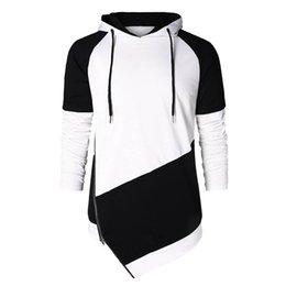 Vente en gros Hoodies Sweatshirts Hommes Mode Casual Printemps 2019 Eté Vêtements Pour Hommes Imprimé À Manches Longues Hoodies Sweat Pour Hommes