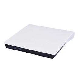Venta al por mayor de Unidad óptica de DVD Grabador externo Lector portátil CD-RW ROM Player USB 3.0 Expulsar quemador para PC portátil MAC