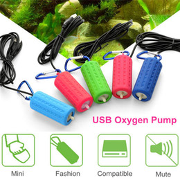75395d36e31 Aquarium Air Pump Portable Usb Oxygen Air Pump Mute Energy Saving  Extraordinary Output Aquatic Terrarium Fish Tank Accessories
