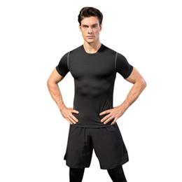 $enCountryForm.capitalKeyWord Australia - 2019 Men's tight-fitting Fitness Clothing Running short-sleeved Sportswear stretch-dry Clothes T-shirt