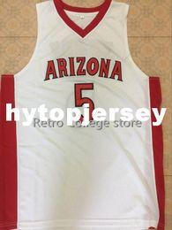 $enCountryForm.capitalKeyWord Australia - 23 Hollis-Jefferson 5 stanley johnson Arizona Wildcats Red white Basketball Jerseys Stitched Personalized Custom any XS-6XL vest Jerseys NC