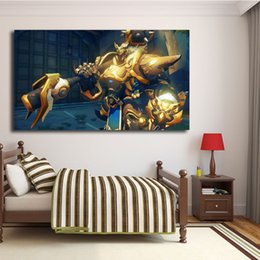 Hero Paintings Australia - Heroes Legendary Skins Overwatchs Wall Art Canvas Poster And Print Canvas Painting Decorative Picture For Office Room Home Decor