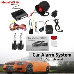 vehicle anti theft 2019 - Universal 1-Way Car Alarm Security System Keyless Entry Siren +2 Remote Controller Vehicle Protection Anti-theft Burglar
