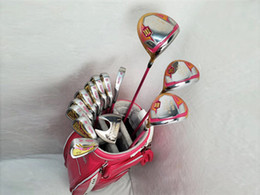 $enCountryForm.capitalKeyWord Australia - Brand New Honma S-06 Full Set Honma Women Golf Clubs Driver + Fairway Woods + Irons Putter Graphite Shaft With Head Cover