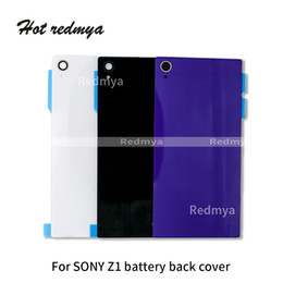 $enCountryForm.capitalKeyWord NZ - For Sony Xperia Z1 L39h C6903 C6906 Z1 Mini Compact D5503 Battery Back Cover Rear Door Housing Case Repair Cellphone Parts