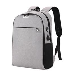 Backpacks For College Men Australia - Benviche Usb Charging Laptop Backpack 15.6 Inch Anti Theft Women Men School Bags For Teenage Girls College Travel Backpack Nylon