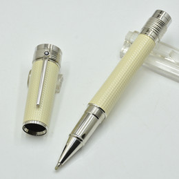 Quality Metal Pens Australia - MB Serial Number Limited edition Gandhi's holy light signature Roller ball pen Top quality Metal and carbon fiber material Diamond cap