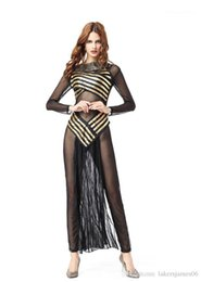 goddess costume women Canada - Mythology Goddess Fashion Style Saexy Theme Costume Womens Halloween Designer Cosplay Dresses Indian Roman Egypt Greek