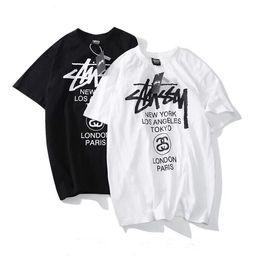 29a6fbb9 NyloN t shirts online shopping - 2019 New Fashion Brand Mens Summer T shirt  Stussy World