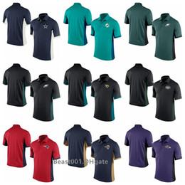 Patriot Shirts Australia - Men Cowboys Dolphins Eagles Jaguars Jets Patriots Rams Ravens Redskins Saints Seahawks Vikings Polo Shirt