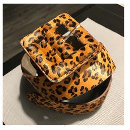 $enCountryForm.capitalKeyWord NZ - cummerbund leopard print elastic Strap female fashion all-match cowhide horsehair women's Wide belt C19010301