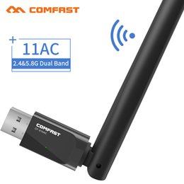 $enCountryForm.capitalKeyWord Australia - reless dongle COMFAST CF-916AC AC600 Dual band 2.4 +5.8Ghz Mini USB - wi Adapter Wireless Dongle 600Mbps PC Adaptador Wi Fi Receiver