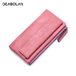 Wholesale Women s Hand Hold Wallet Long Korean Fashion Trends Personality Small Clean Youth Student Zipper Cell Phone