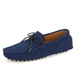 driving shoes NZ - Spring & Autumn Man Moccasin-gommino Stitching Style EU 38-44 Solid Color Adults Fashion Loafers Men Driving Doug Shoes