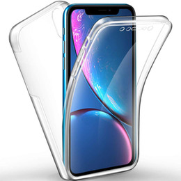 $enCountryForm.capitalKeyWord UK - 360 Full Body Hard PC Back and Soft Silicone Tpu Front Integrated Transparent Slim Ultra-Thin Protective Cover for Iphone Series