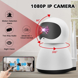 Audio Ip Camera Australia - HD 1080P Home Security IP Camera Two Way Audio Wireless Surveillance Clear Camera Night Vision CCTV WiFi Baby Monitor
