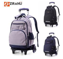 $enCountryForm.capitalKeyWord NZ - Ziranyu School Wheeled Backpack Bags For Boy Children Trolley Backpacks For School Kids Backpack On Wheels Student Trolley Bags