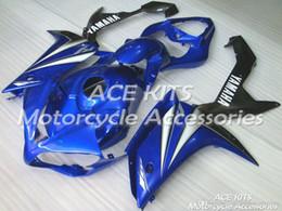 R1 Tank Australia - ACE KITS Motorcycle fairing For YAMAHA YZF R1 2007-2008 Injection or Compression Bodywork wondrous blue +TANK NO.2101