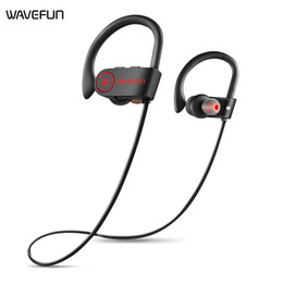 $enCountryForm.capitalKeyWord Australia - New Wavefun bluetooth headphones IPX7 waterproof wireless headphone sports bass bluetooth earphone with mic For iPhone Android tablets