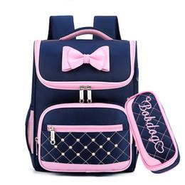 Discount school girl satchel backpack rucksack - Cute Bow Princess backpack School Backpacks for Girls Kids Satchel School Bags For Kindergarten Mochila Escolar Rucksack
