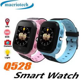 child locator watch tracker Australia - Q528 Smart watch Children Kid Wristwatch SOS GSM Locator Tracker Anti-Lost Safe Smartwatch Child Guard for iOS Android