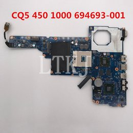 Hp laptop motHerboard test online shopping - High quality For CQ45 Laptop motherboard A2493101 MB A02 HM75 full Tested