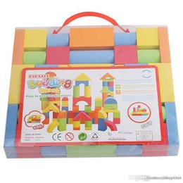 $enCountryForm.capitalKeyWord NZ - Wholesale- Hot Mixed Colors EVA Puzzle Building Toy For Kids Children Educational educational toys Christmas gifts for kids toddler A676